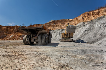 Equipment on Cooper mine - Open pit 22
