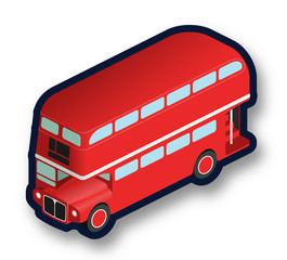 London double decker bus