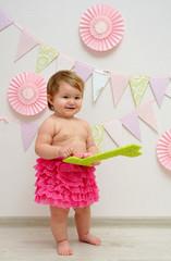 cute baby girl anniversary