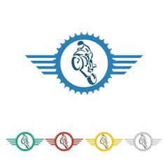 moto logo icon Vector