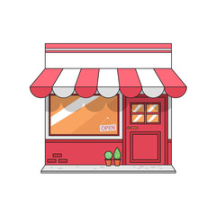 graphic store, vector