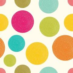 Polka dot. Vector seamless pattern.