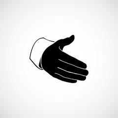 hand greeting  icon