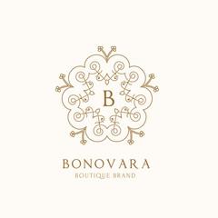 Luxury logo,boutique identity,real estate,property,royalty logo,hotel logo,crest logo,Victorian style logo,Vector Logo Template.