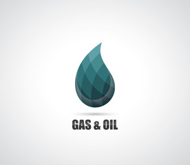Gas and oil symbol