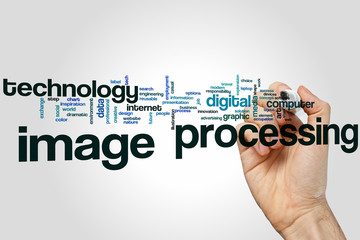 Image processing word cloud