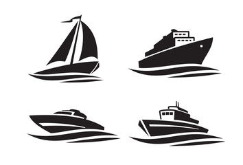 black ships icons