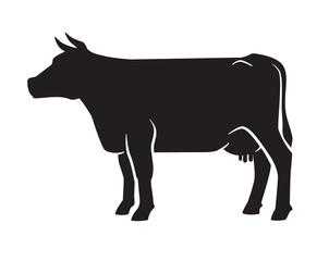 black cow icon