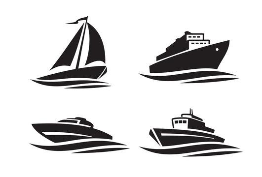 black ships icons