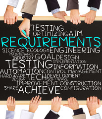 REQUIREMENTS concept