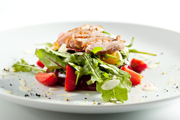 Duck Salad with Fruit