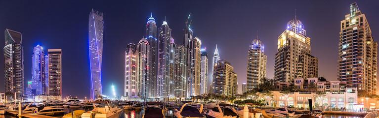 Dubai Marina cityscape, UAE