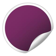 Rouns sticker design element