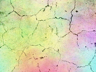 cracked wall in pastel tone background