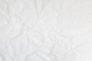 Crumpled sheet of paper