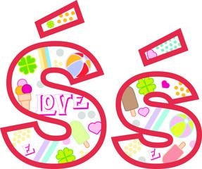 Litera ś, alfabet, lato