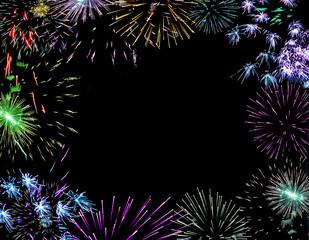 firework lights pyrotechnics