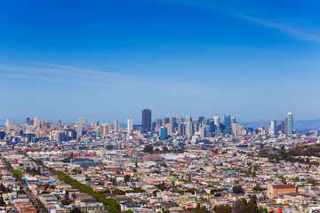 Fototapete - Panorama of lager San Francisco