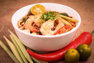 Handmade Tom Yam Noodle