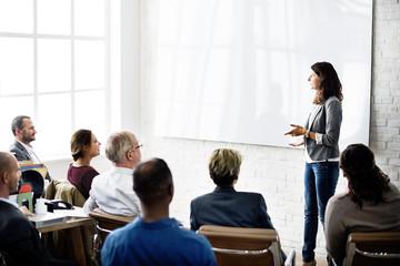 Conference Colleagues Business Communication Concept
