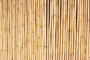 bamboo fence texture for background