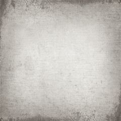 Old gray canvas texture, vintage book cover background
