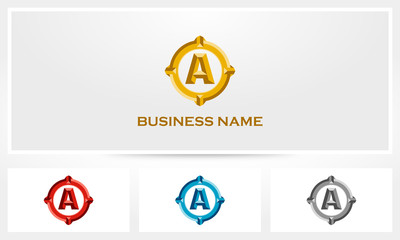 Letter A Bold Luxury Logo