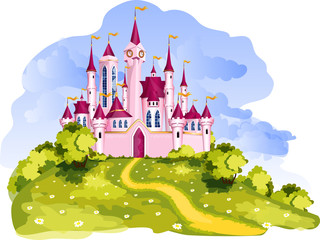 Magic princess castle.