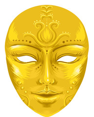 Face Mask Gilded