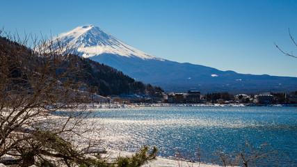 MT. FUJI lake kawaguchiko