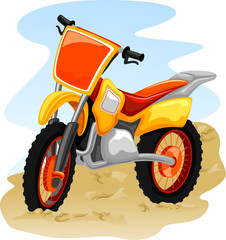 Extreme Sports Motocross Bike