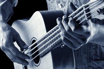 ukulele bass blue image