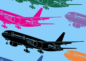 Avion, pop art