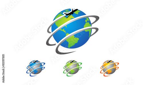 Global Travel And Tour Logo Design