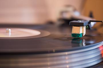 Plattenspieler, Vinyl, retro