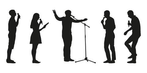 Orators Silhouettes