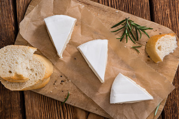Pieces of Camembert