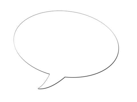 Sprechblase - Speech bubble