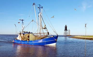 Küstenfischerei an der Nordseeküste