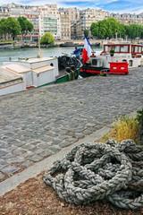 port de plaisance sur la Seine