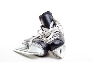 A Pair of Ice Hockey Skates