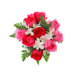 bouquet isolated on white background