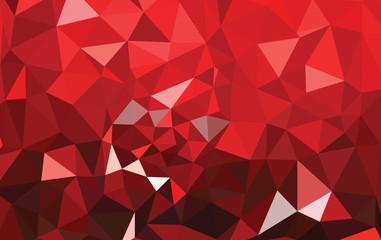 polygonal triangular modern alphabet design background Fotoväggar