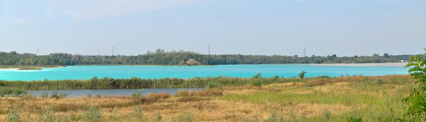 Jezioro Turkusowe koło Konina - fototapety na wymiar