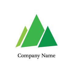 Mountain Logo Icon - Vector