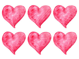 Vector Valentine's Heart Collection