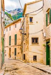 Wall Mural - Alte Gasse Berg Dorf Mediterran