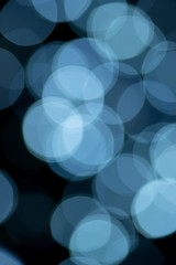 Light blue abstract background created by reflections