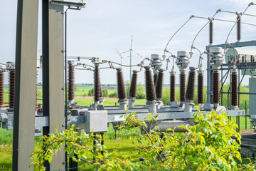 Umspannstation für Windenergie