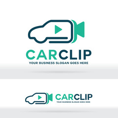 Car Video Clip Logo